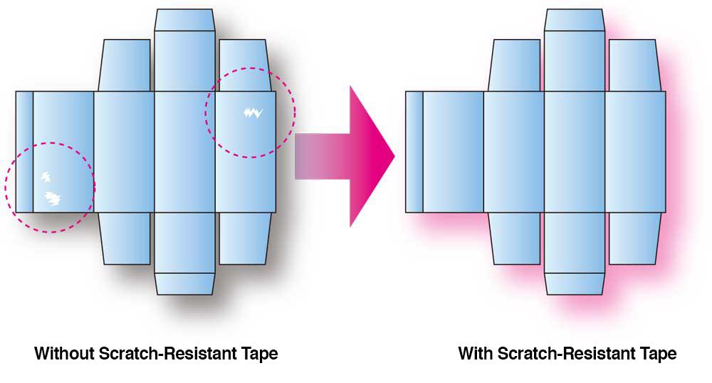 scratch resistant tape