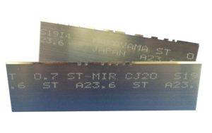 contour cutting blades