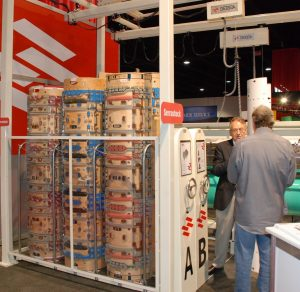 "The storage system of rotary die board ""Serrastock LC"""